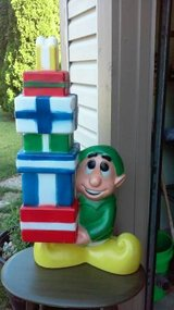 ELF WITH PRESENTS BLOW MOLD in Bolingbrook, Illinois