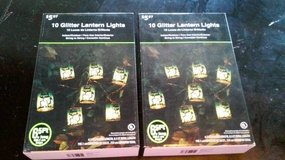2 PKG HALLOWEEN LANTERN LIGHTS in Bolingbrook, Illinois