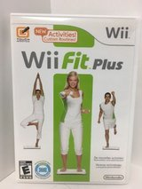 Wii Fit Plus for Nintendo Wii - Complete with Manual in Yorkville, Illinois