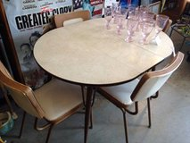 Vintage Genuine 1960's Kuehne Table and 4 chairs w Leaf in Dover, Tennessee