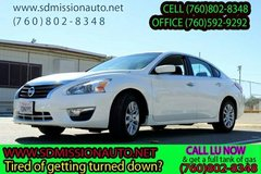 2015 Nissan Altima 2.5 S Ask for Louis (760) 802-8348 in Oceanside, California