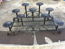 Candle holder in Schofield Barracks, Hawaii