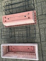 2 DECK FLOWER BOX HOLDERS & FLOWER BOXES in Sugar Grove, Illinois