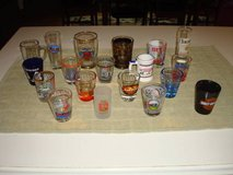Mixed lot of 19 SHOT GLASSES all for One Price!!  L@@K!! in Brookfield, Wisconsin