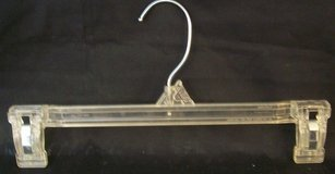 "WANTED 12"" Long Clear Hangers With Grip Clips in Morris, Illinois"