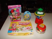 Mixed Lot M&M Dispenser Strawberry Shortcake Minnie Mouse Inside Out in Brookfield, Wisconsin