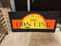 """Custom Lion King Sign-48.0"""" x 24.0"""" in Chicago, Illinois"""