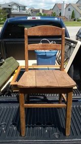 Old Desk Chair in Chicago, Illinois