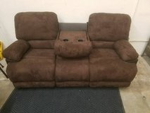 Chocolate Sofa Console and/or Loveseat Recliner FREE DELIVERY in Oceanside, California