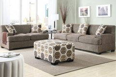 New Slate Gray Brown Linen Sofa and//or Loveseat FREE DELIVERY in Oceanside, California