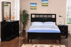 New Black Hardwood TWIN Bed FREE DELIVERY in Oceanside, California
