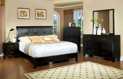 New Hardwood Espresso California King Bed FREE DELIVERY in Oceanside, California