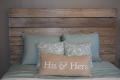 Queen Barn Wood Headboard and Railings in Clarksville, Tennessee