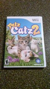 Wii PETZ CATZ 2 GAME in Bolingbrook, Illinois