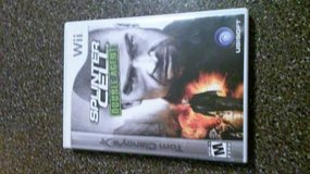 Wii SPLINTER CELL DOUBLE AGENT GAME in Bolingbrook, Illinois