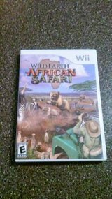 Wii AFRICAN SAFARI GAME in Bolingbrook, Illinois