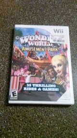Wii WONDER WORLD AMUSEMENT PARK GAME in Bolingbrook, Illinois