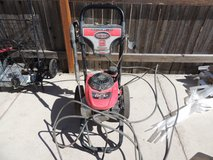 2.4gpm simpson pressure washer, gcv190 honda, fs, msv3024hv-fs  51112 in Huntington Beach, California