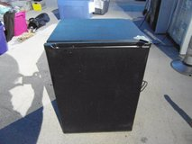 black mini refrigerator w/ miniature freezer college dorm fridge  33587 in Huntington Beach, California