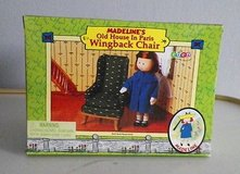 madeline's old house in paris doll furniture wing back chair eden 2000 nib in Bolingbrook, Illinois