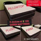 BRAND NEW! Queen Mattresses - 1 LOW PRICE - FIRM, MEDIUM OR SOFT in Chicago, Illinois