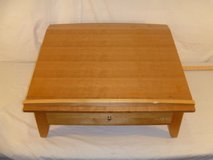 mini writing desk w/one pull out drawer angled 26 x 23.5 x 13 80063 in Huntington Beach, California