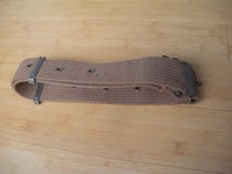 vintage military utility belt in Naperville, Illinois