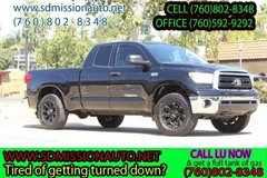 2012 Toyota Tundra Grade Black Ask for Louis (760) 802-8348 in Oceanside, California
