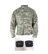 ready one acu jacket industries test a uniform w/ elbow pads  00297 in Huntington Beach, California