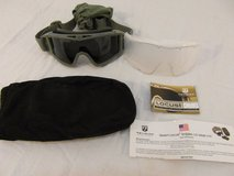 revision desert locust forest green goggles /  lens and case military/motorcycle  00310 in Huntington Beach, California