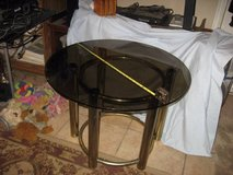 "Round Glass Table  30"" Diameter in Yucca Valley, California"