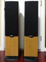 VINTAGE POLK AUDIO RT600 TOWER STANDING SPEAKERS in Fairfield, California