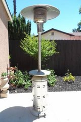 Stainless Steel Propane Patio Heater in Vacaville, California