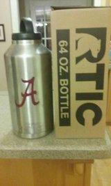 Rtic 64oz Bottle w/ Bama A decal in Byron, Georgia