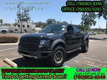 2011 Ford F-150 SVT Raptor Ask for Louis (760) 802-8348 in Oceanside, California