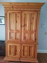 Immaculate Solid Pine Armoir in Columbia, South Carolina