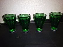 4-Pieces Inverted Bottle Top Caps 2oz Party Alcohol Liquor Shot Glass in Travis AFB, California
