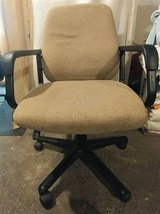 Office Chair with arms Tan in Tacoma, Washington