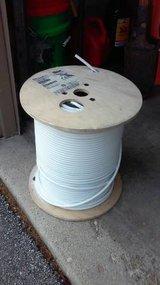 1000ft Cable Wire TV Antenna Satellite 18AWG White in Lockport, Illinois