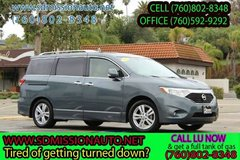 2012 Nissan Quest 3.5 SL Ask for Louis (760) 802-8348 in Vista, California