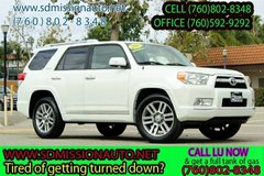 2010 Toyota 4Runner Limited Ask for Louis (760) 802-8348 in Camp Pendleton, California