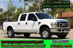 2008 Ford F-250 Super Duty XLT Ask for Louis (760) 802-8348 in Camp Pendleton, California