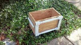 CUSTOM WOOD RAISED PLANTER #1 in Plainfield, Illinois
