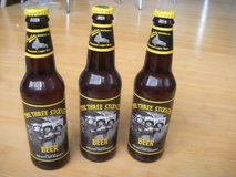 vintage ~ 3 classic three 3 stooges beer bottles ~collectible panther brewing co in Plainfield, Illinois