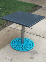 Transformed restaurant table in Westmont, Illinois