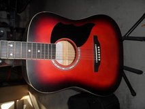 Eko Acoustic Guitar w/ case and stand in Lackland AFB, Texas