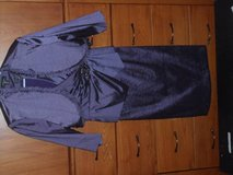 Mid-Length Sleeveless Dress w/shrug - Purple - Size 6 in Lackland AFB, Texas