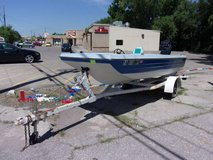 Fourteen Foot Boat With Trailer in Fort Riley, Kansas
