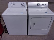 Amana Washer and Maytag Dryer Set in Fort Riley, Kansas