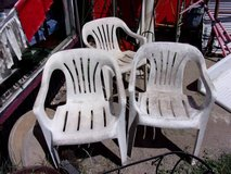Set of Three Chairs in Fort Riley, Kansas